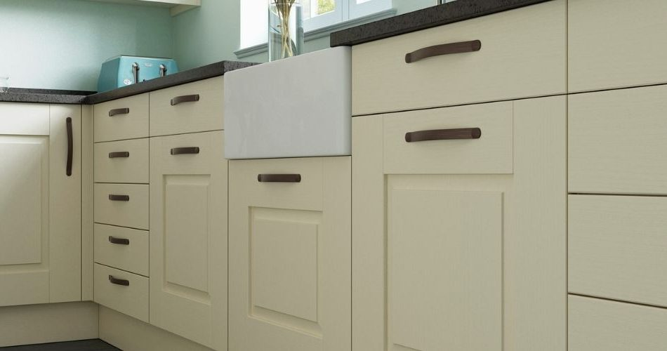 Matching one or two replacement kitchen doors