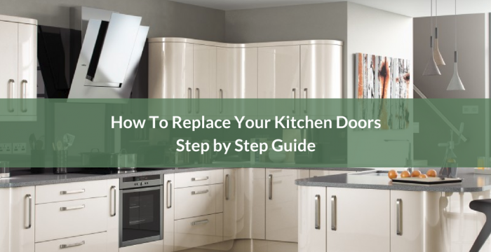 How To Replace Your Kitchen Doors Guide Blog Banner
