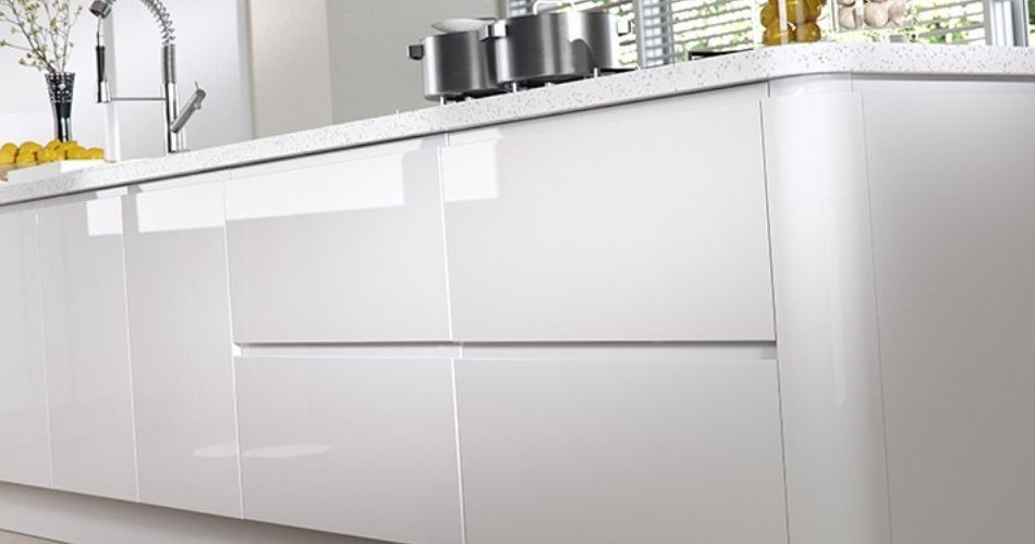 Why can I not find a high gloss white kitchen door that matches my existing high gloss white kitchen