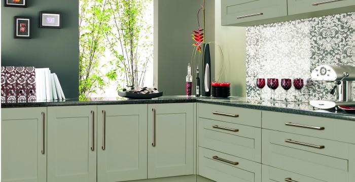 Roma shaker kitchen units