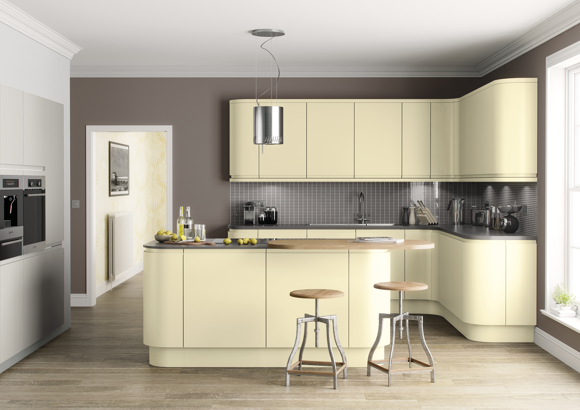Colourful kitchen units for sale