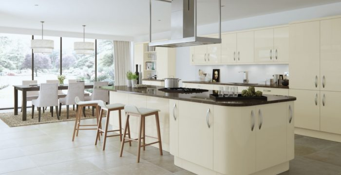 advantages of high gloss kitchens