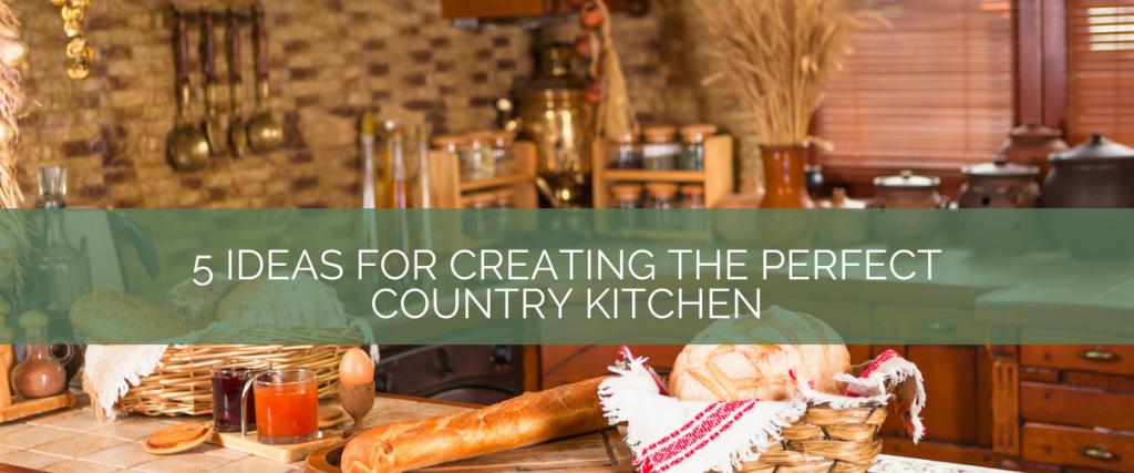 Matthew crehan author at kitchen blog kitchen design for Perfect country kitchen