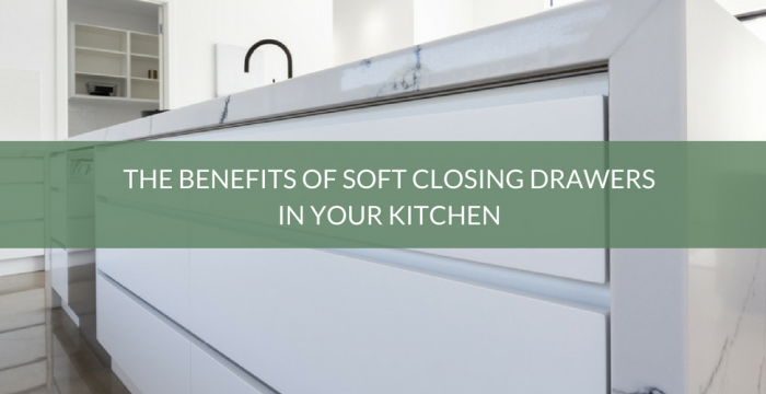 Soft Closing Drawers