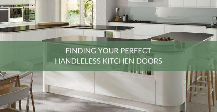 Handleless Kitchen Doors