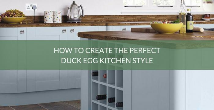 Duck Egg Kitchen Style
