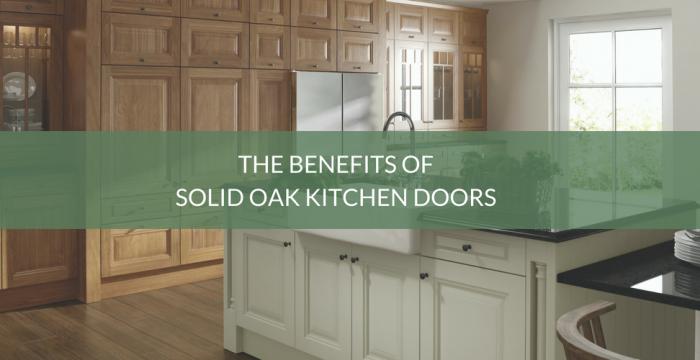 Benefits of Solid Oak Kitchen
