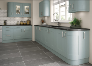 Duck Egg Blue Kitchen Design