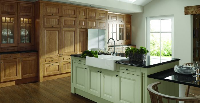 Solid Oak Kitchen Doors