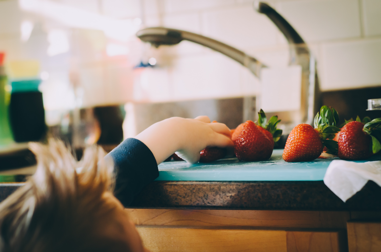 child friendly kitchen