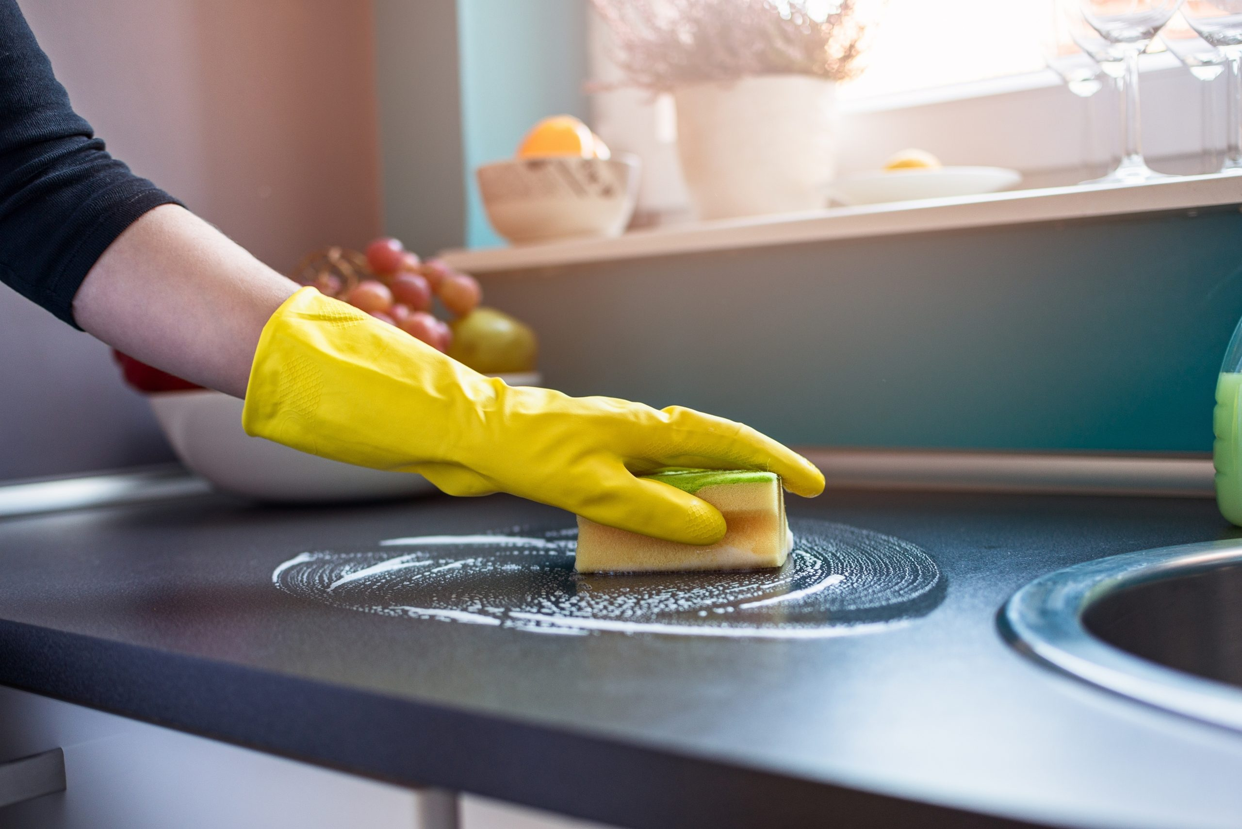 how to deep clean your kitchen