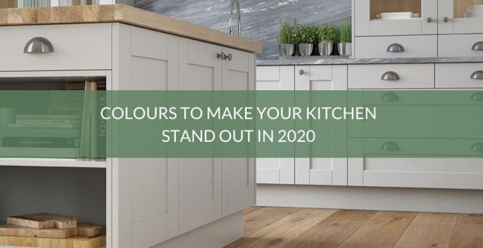 Colours to make your kitchen stand out in 2020