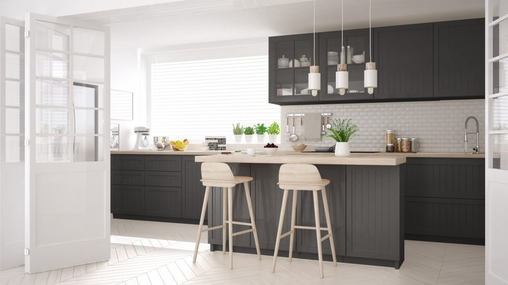 What Colours Go With Grey In The, Grey Kitchen Cabinets What Colour Walls Uk