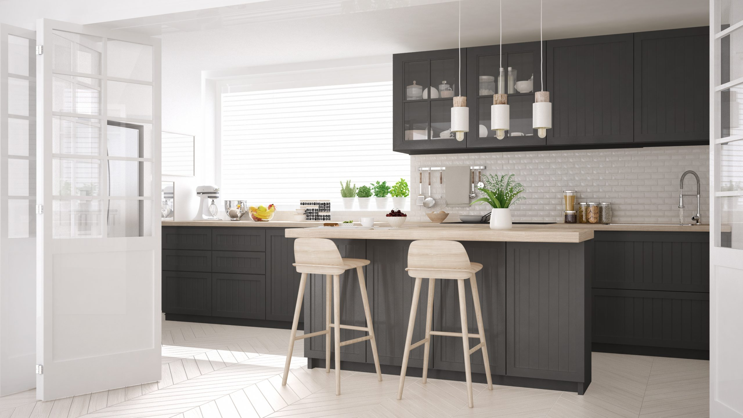 What Colours Go With Grey In The Kitchen Kitchen Blog Kitchen Design Style Tips Ideas Kitchen Warehouse Uk