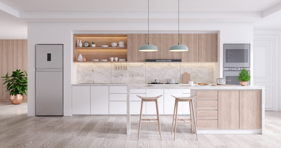 space in the kitchen