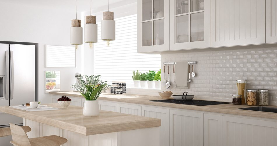 How to add some colour to a white kitchen
