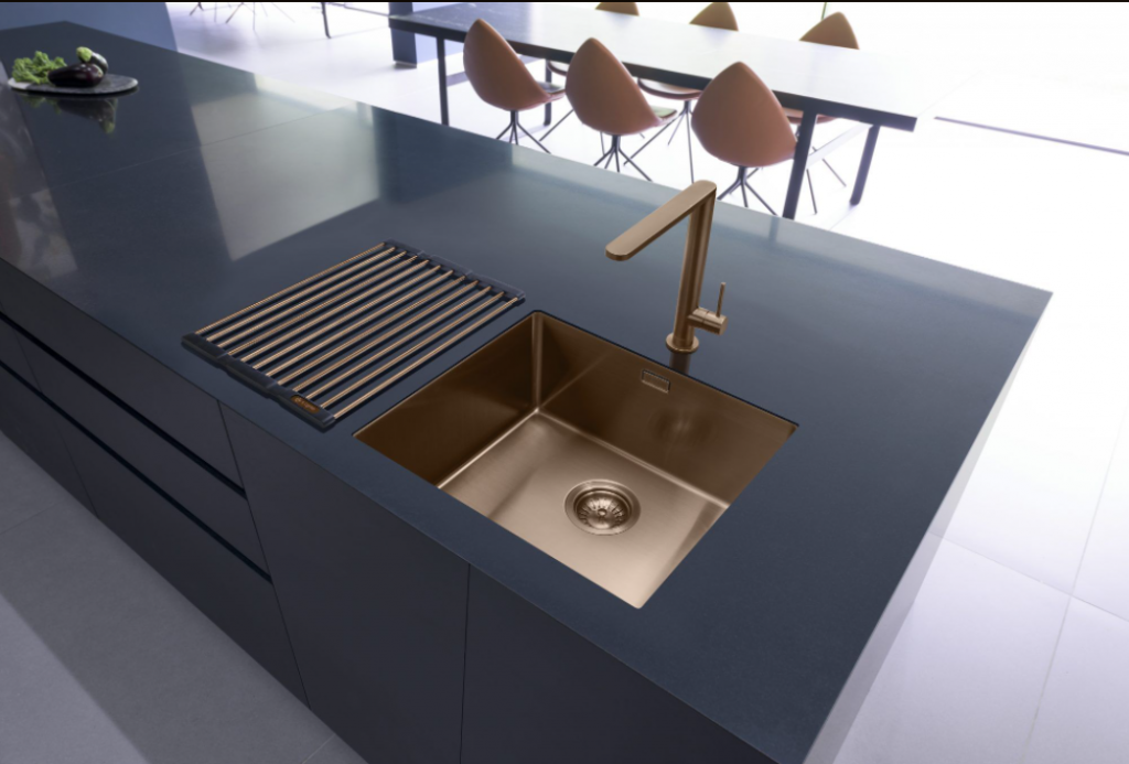 expensive looking kitchen sink