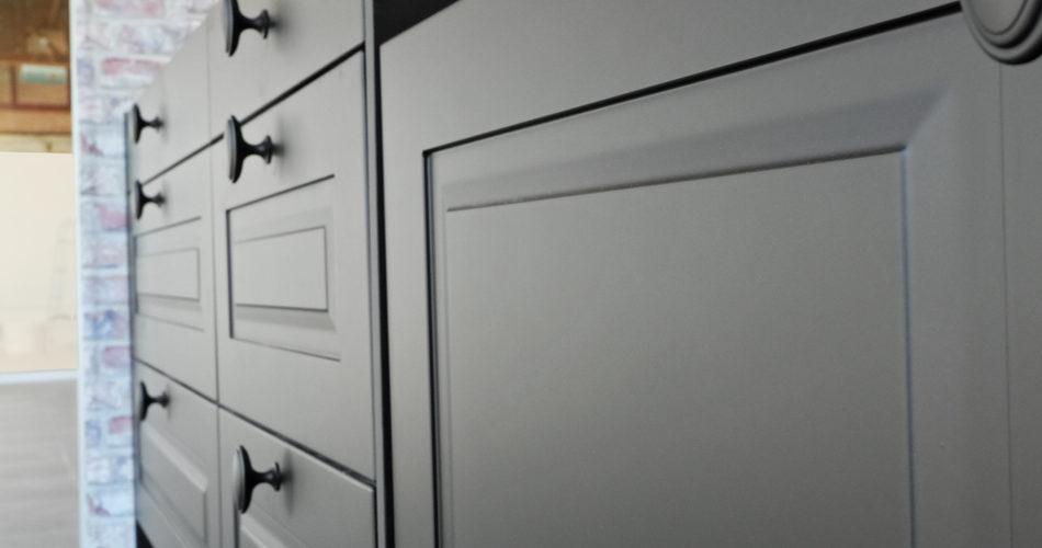 Should I paint kitchen doors myself?