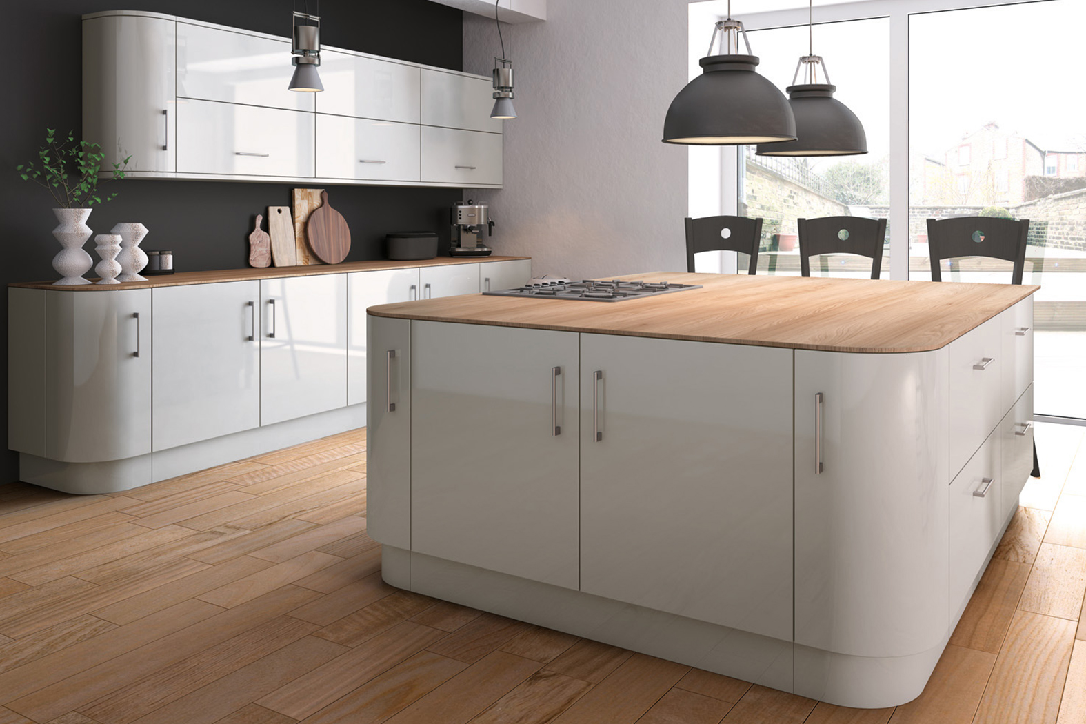 Light Grey : Cheap Kitchen Units and Cabinets for Sale ...