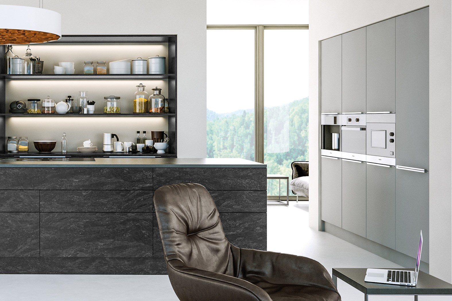 Supermat Light Grey Cheap Kitchen Units And Cabinets For Sale Online Kitchen Warehouse