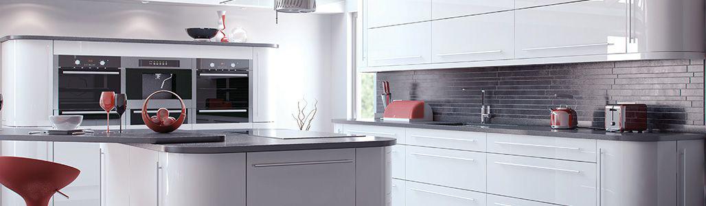 High Gloss White Kitchen Units Kitchen Warehouse