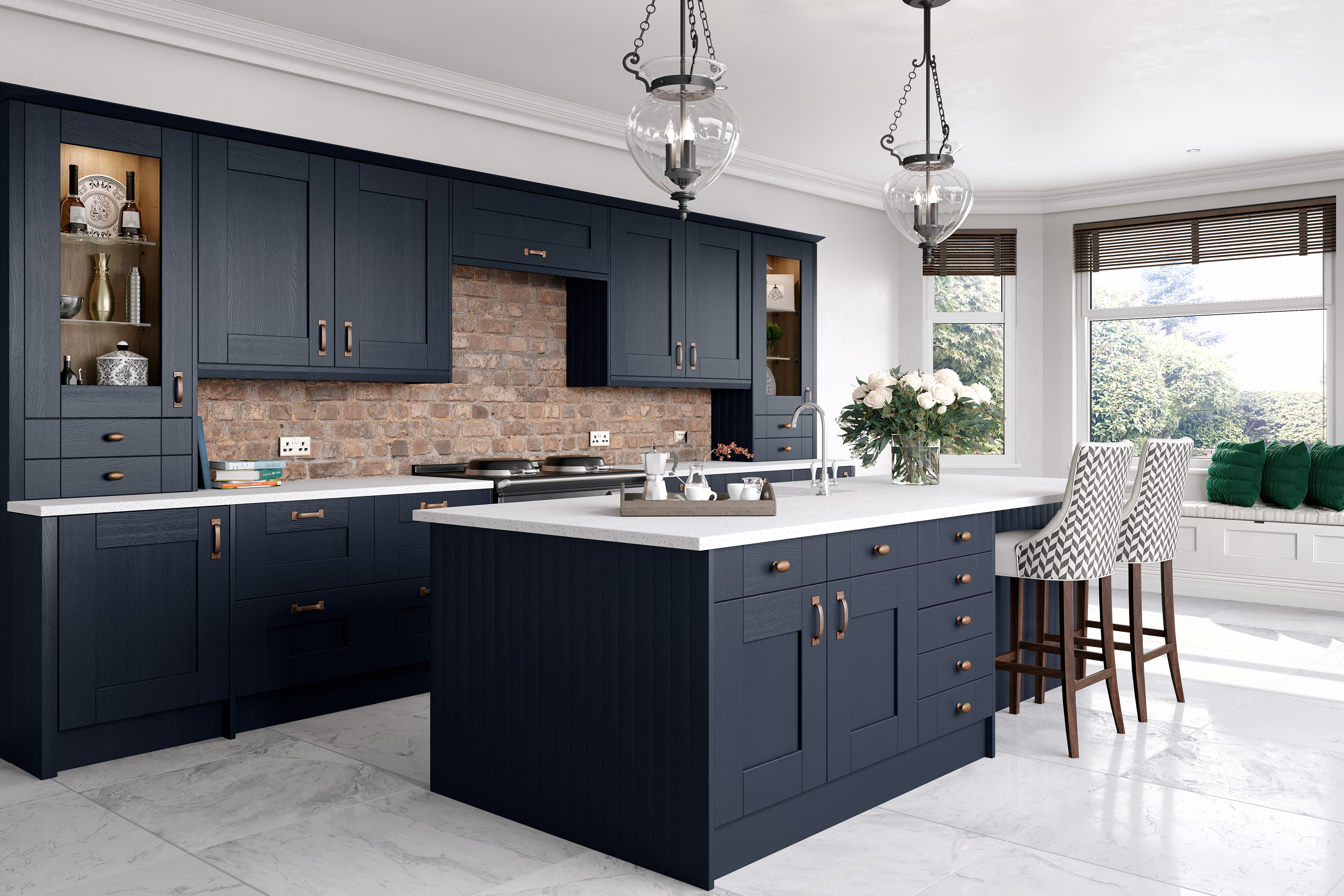 Midnight Blue : Cheap Kitchen Units and Cabinets for Sale ...