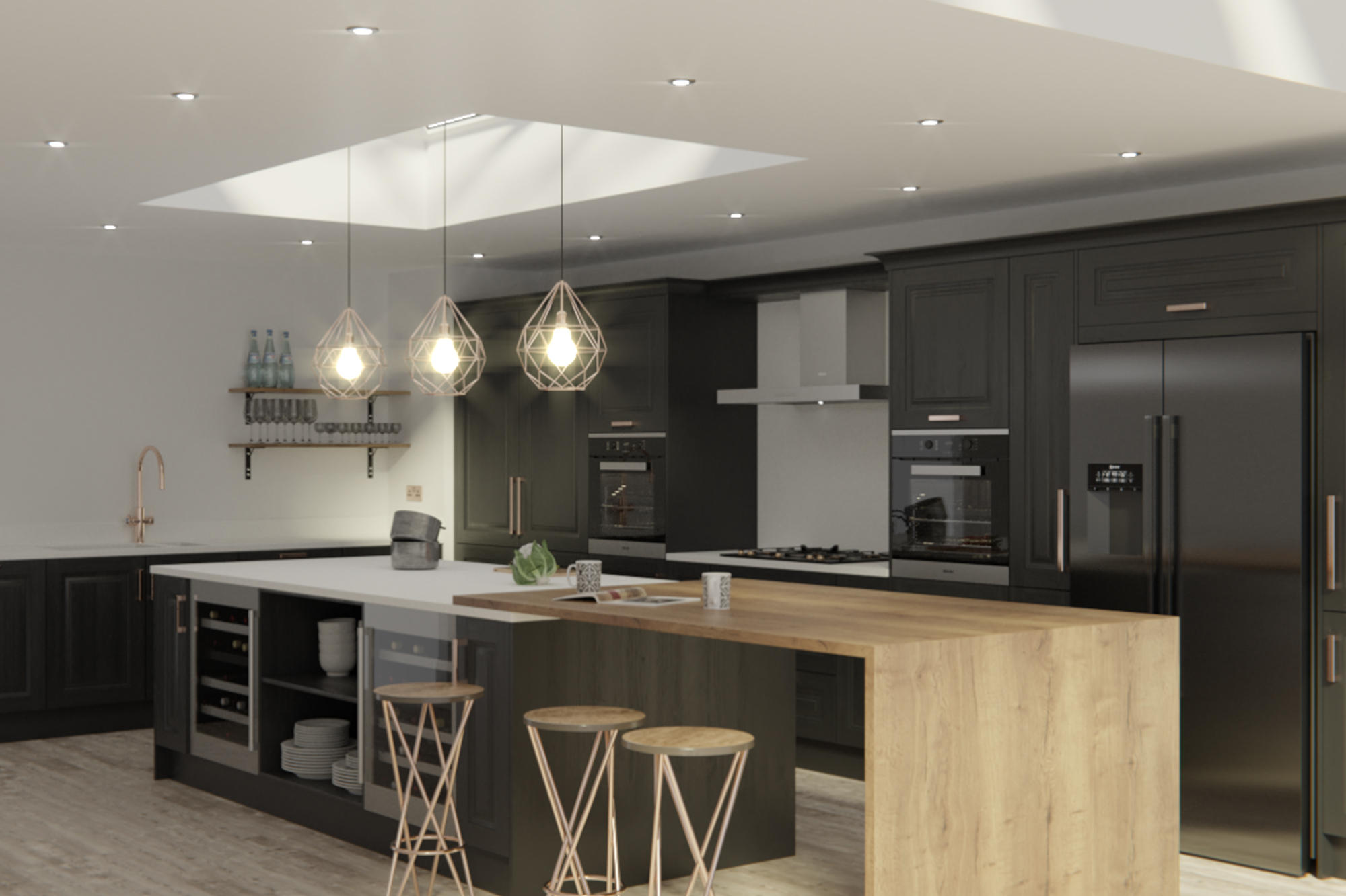 Jefferson Graphite : Cheap Kitchen Units And Cabinets For
