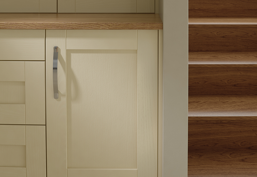 Madison Ivory Painted Kitchen Doors : Cheap Kitchen Units