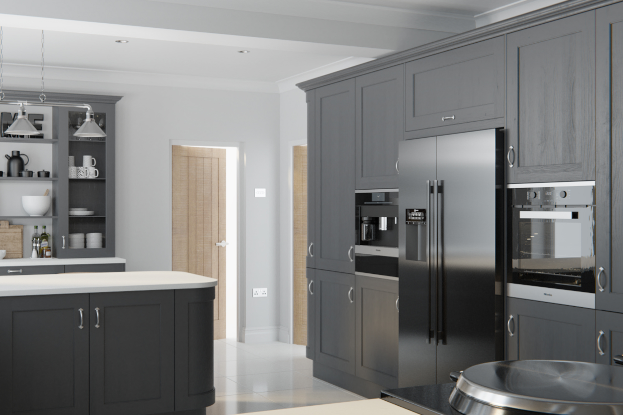 Wakefield Graphite : Cheap Kitchen Units And Cabinets For