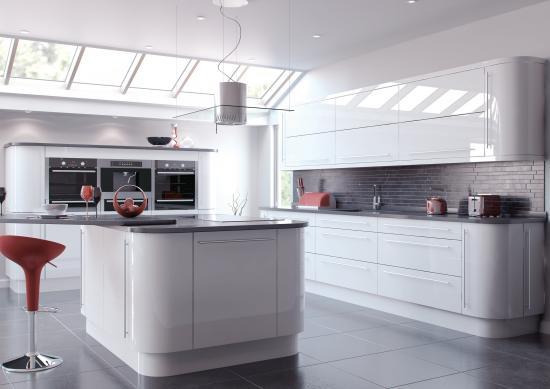 White High Gloss Kitchen Doors Kitchen Warehouse