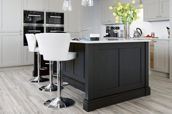 Madison Graphite Painted Kitchen Doors